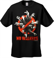 The Walking Dead No Walkers TShirt